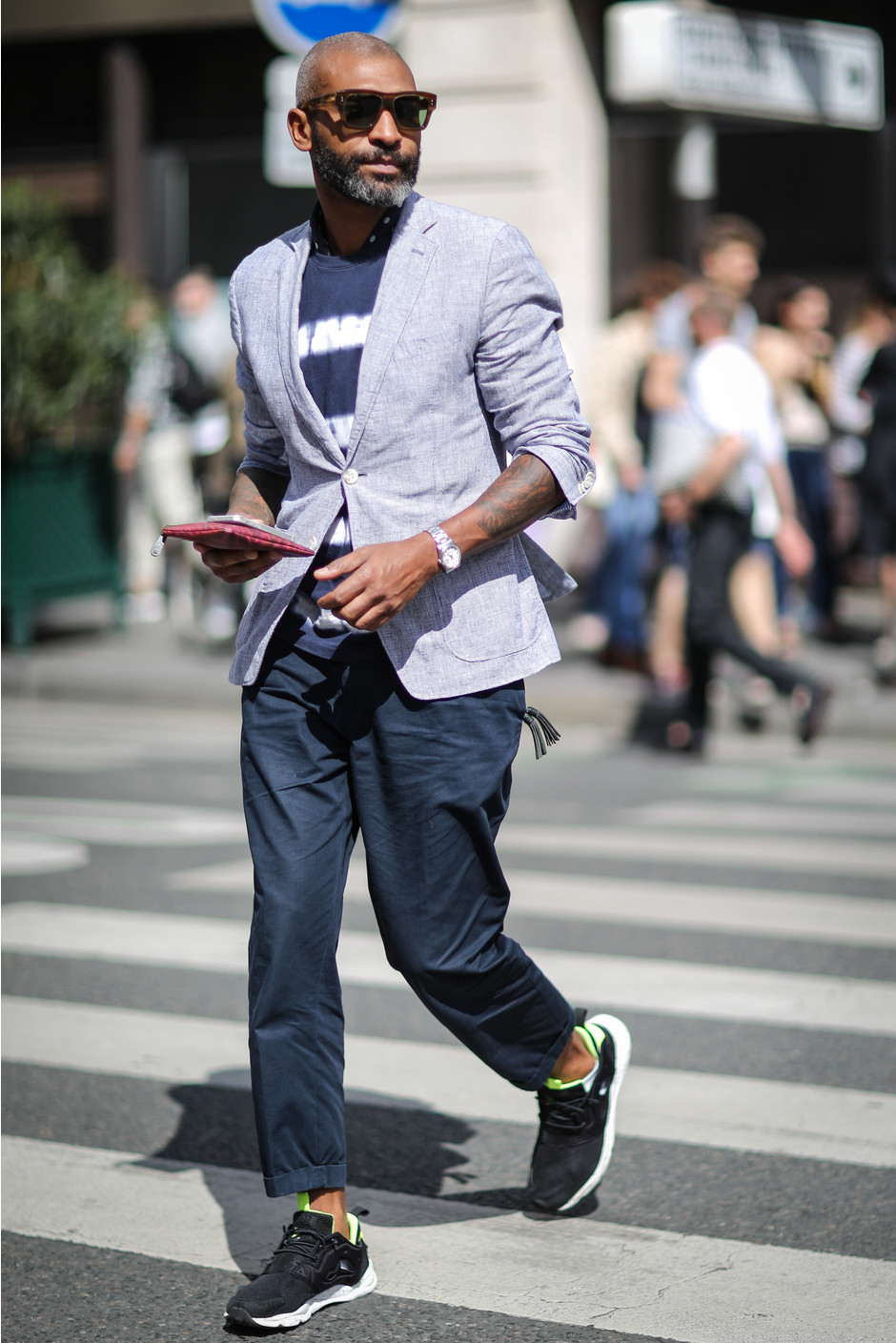 Street style: самые модные мужчины Парижа