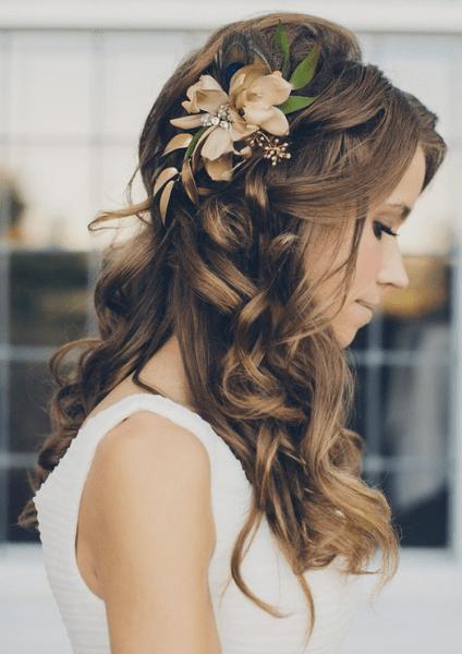 Как украсить цветами свадебную прическу | галерея [4] фото [1]