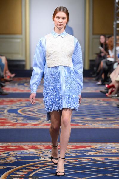 Показ осенне-зимней коллекции Ruban на Mercedes-Benz Fashion Week RussiaПоказ осенне-зимней коллекции Ruban на Mercedes-Benz Fashion Week Russia | галерея [2] фото [6]