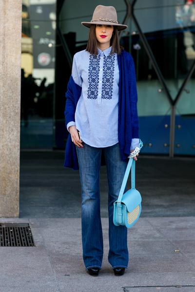 С чем носить джинсы осенью фото | галерея [4] фото [3]