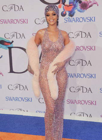 Рианна на CFDA Fashion Awards