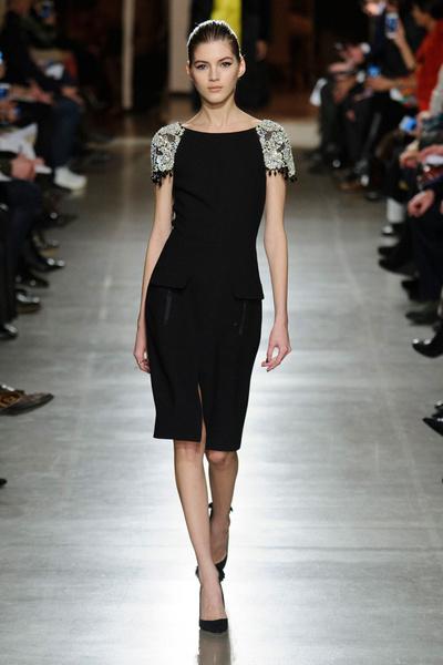 Показ Oscar de la Renta на Неделе моды в Нью-Йорке | галерея [1] фото [24]
