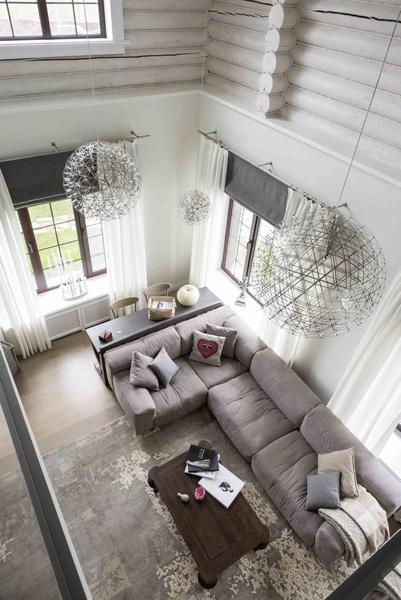 двухэтажный загородный дом «Белая Лама»