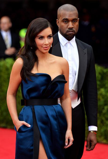 Ким Кардашьян с мужем