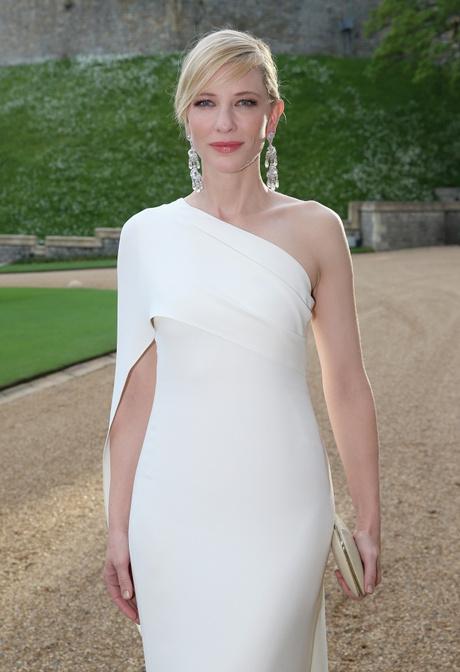 Белое вечернее платье от Ralph Lauren