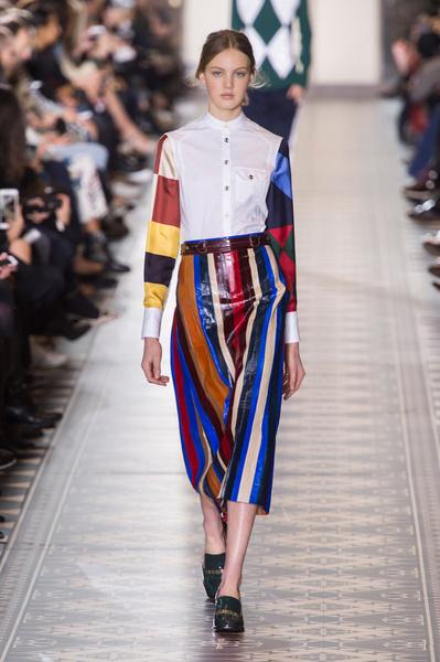 Самые красивые образы Недели моды в Нью-Йорке | галерея [1] фото [14]