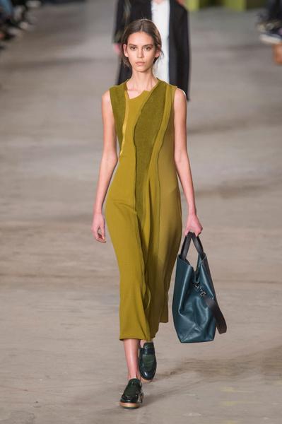Самые красивые образы Недели моды в Нью-Йорке | галерея [1] фото [12]