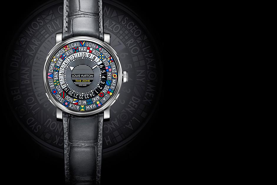 Часы Escale Time Zone, Louis Vuitton