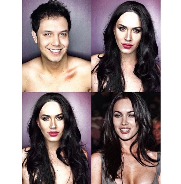 Филиппинский визажист перевоплотился в звезд с помощью макияжа | галерея [1] фото [3]