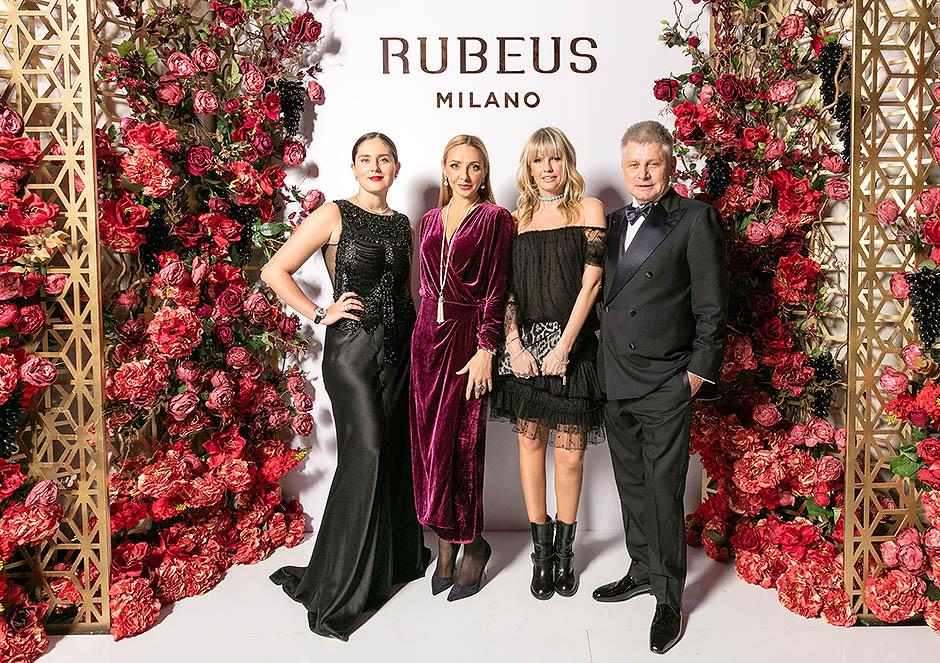 В Москве состоялся торжественный ужине в честь открытия первого бутика Rubeus Milano
