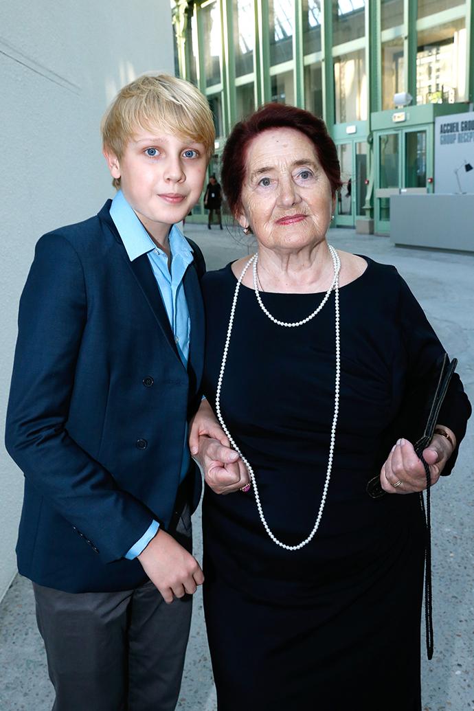 Лукас Портман и Лариса Громова