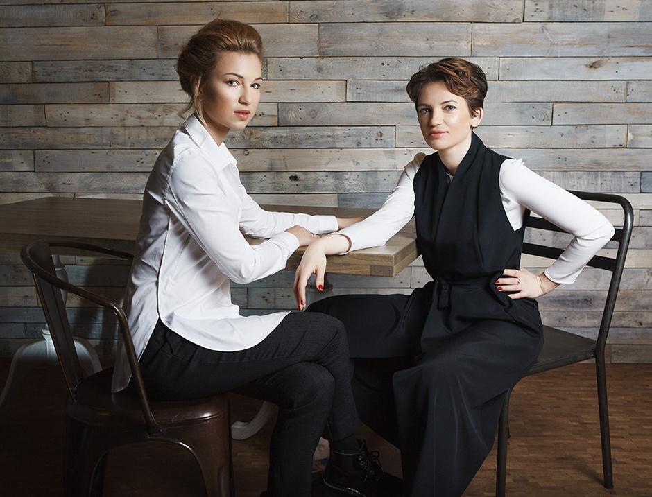 Яна Бучко и Кристина Cиницкая