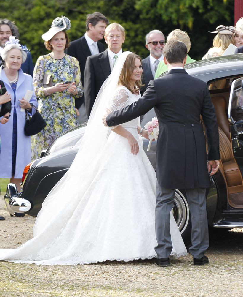 Свадьба Джери Холлиуэлл: фото 2015