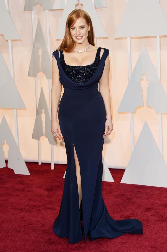 """Джессика Честейн на церемонии """"Оскар-2015"""""""