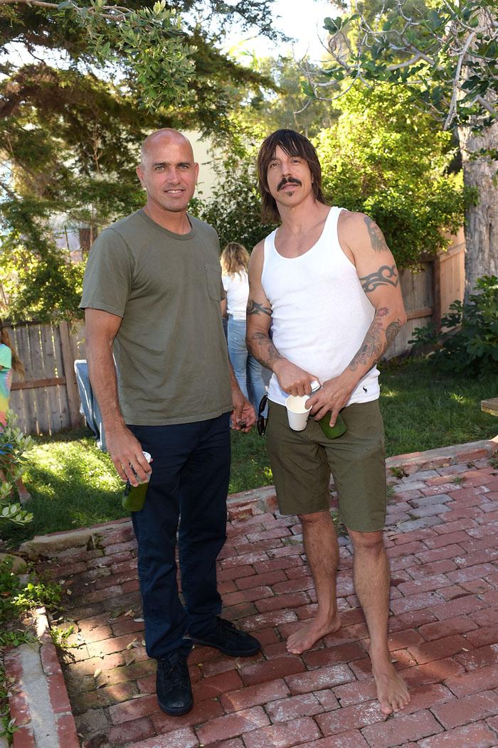 Вокалист рок-группы Red Hot Chili Peppers Энтони Кидис: фото 2015