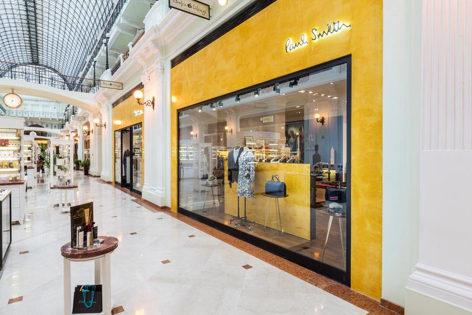 В Петровском Пассаже открылся обновленный бутик Paul Smith