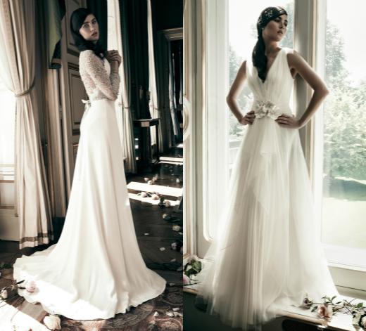 Свадебные платья А-силуэта от Jenny Packham