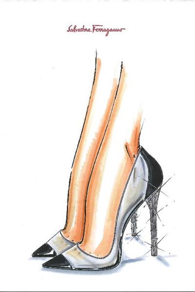 Известные дизайнеры обуви представили свои версии туфель Золушки   галерея [1] фото [7]