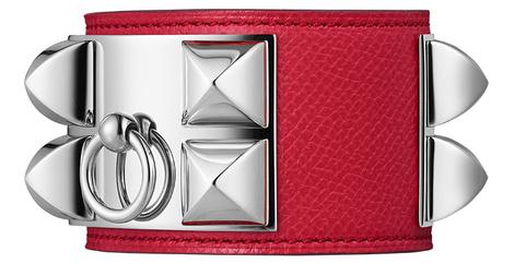 Браслет Collier de Chien, кожа, сталь, Hermès, бутики Hermès, 55 000 руб.