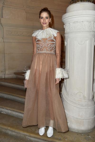 Однажды в Риме: показ Valentino на Неделе Высокой Моды в Париже | галерея [1] фото [7]