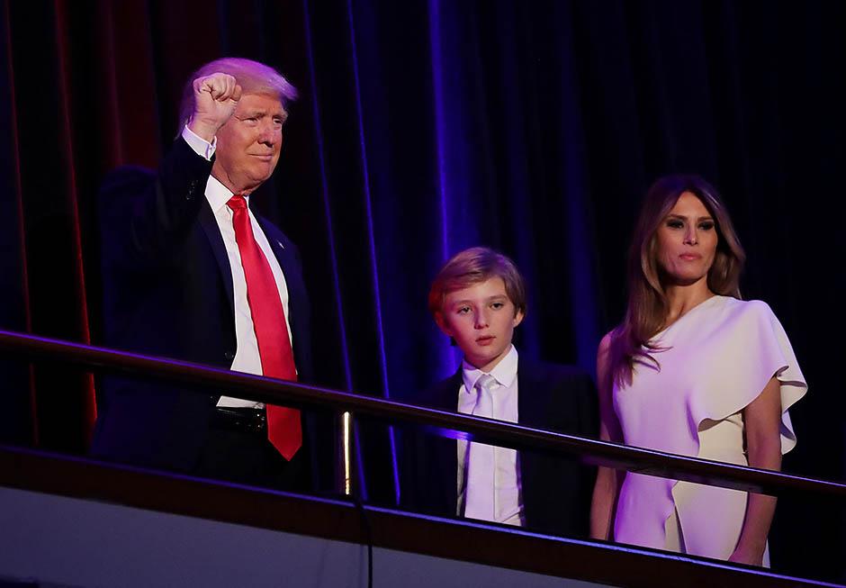 Меланья Трамп не собирается переезжать в Белый дом