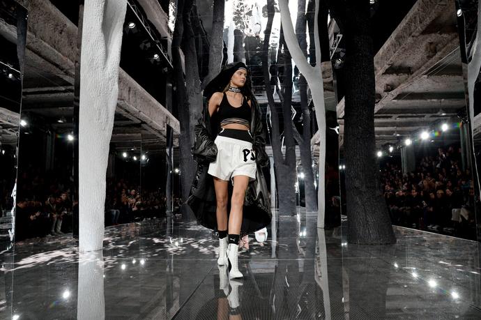 Показ Fenty x Puma by Rihanna