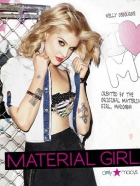 Келли Осборн в рекламной кампании Material Girl