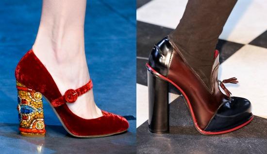мода туфли осень 2013