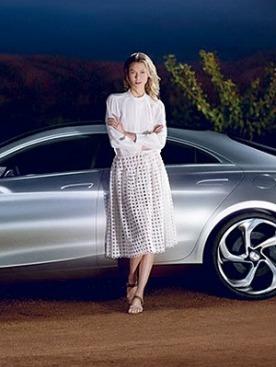 Карли Клосс для Mercedes-Benz