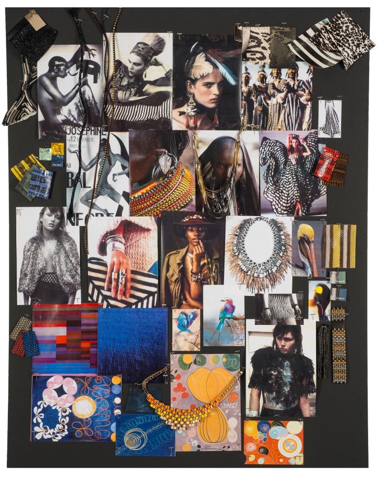 Мудборд коллекции Jimmy Choo весна-лето 2015