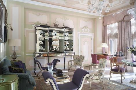 Архитектурное достояние Венеции: отель Gritti Palace | галерея [1] фото [15]