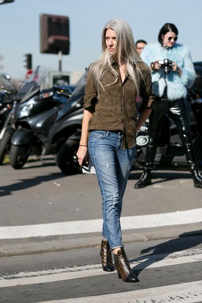 С чем носить джинсы осенью фото | галерея [3] фото [1]