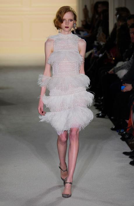 Показ Marchesa на Неделе моды в Нью-Йорке
