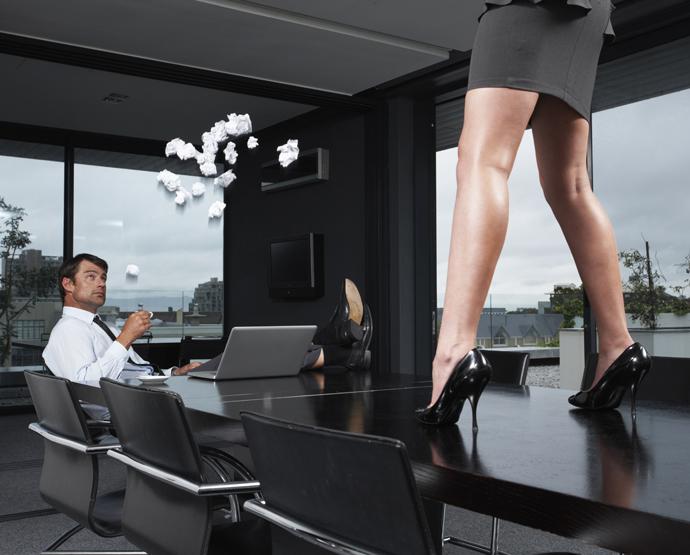 секс на работе флирт