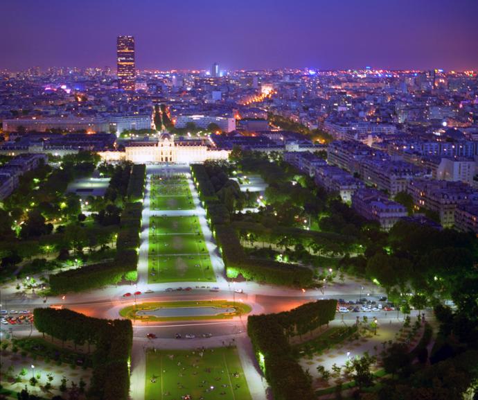 Эйфелева башня Париж фото 2
