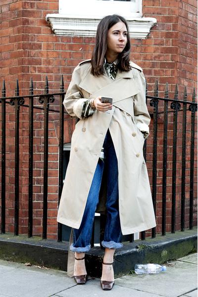 С чем носить джинсы осенью фото | галерея [4] фото [4]