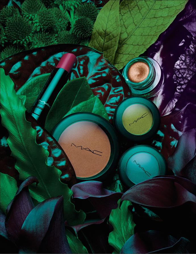 M.A.C выпустили лимитированную летнюю коллекцию макияжа Moody Bloom