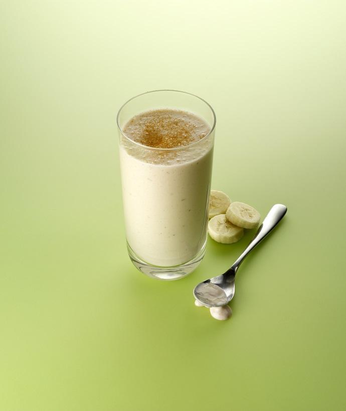 Банановый смузи с греческим йогуртом