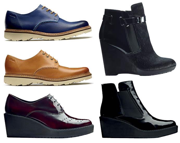 Коллекция обуви для осени Clarks