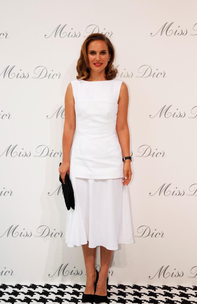 Натали Портман в Christian Dior