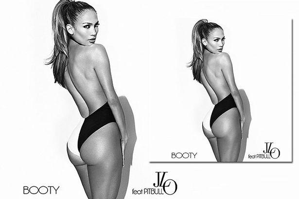 Дженнифер Лопес на кавере сингла Booty