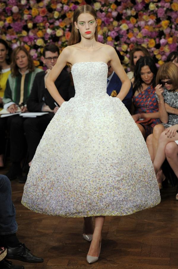 Платье из коллекции Christian Dior Couture 2012 года