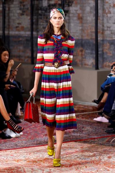 Дом Gucci представил новую круизную коллекцию 2016 | галерея [2] фото [12]