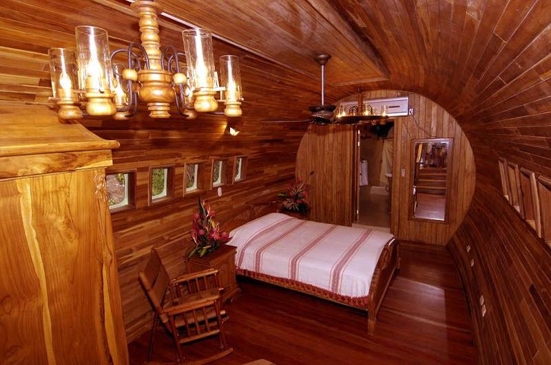 Отель-«самолет» Costa Verde в Коста-Рике фото 3