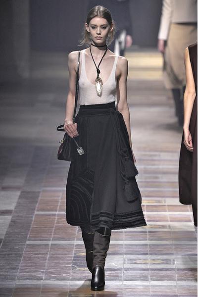 Показ Lanvin на неделе моды в Париже | галерея [1] фото [21]