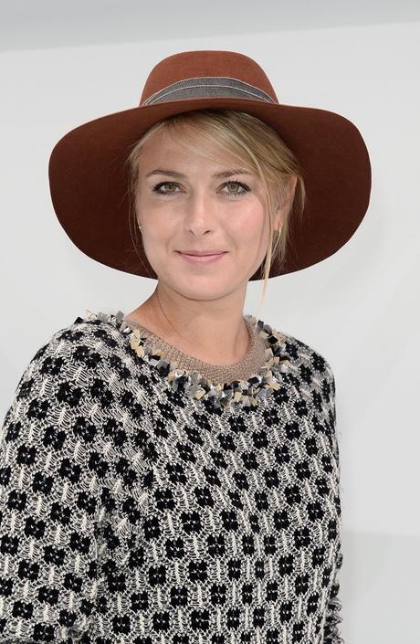 Мария Шарапова: прическа и макияж