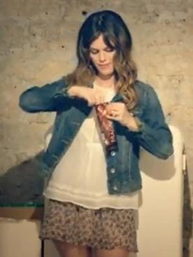 Рэйчел Билсон в рекламе Magnum