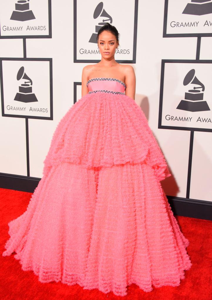 Рианна Grammy 2015 грэмми 2015