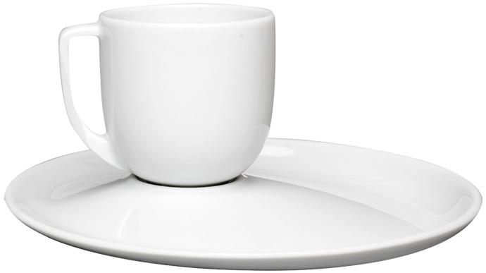 Чашка с блюдцем из коллекции Recto Verso