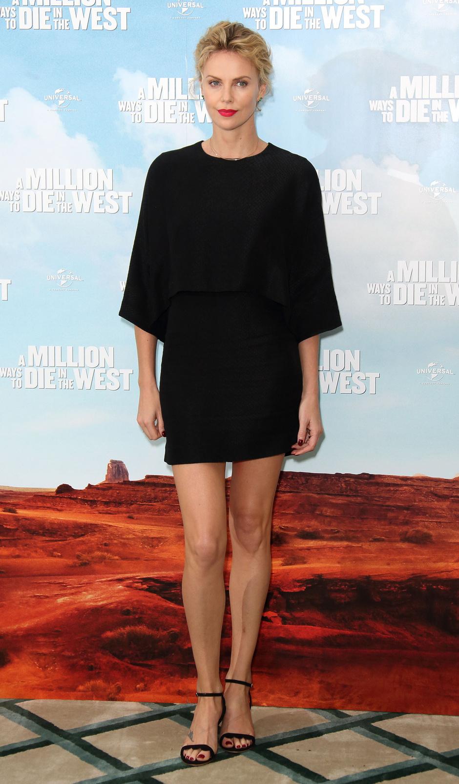 Стиль Шарлиз Терон: платье от Stella McCartney